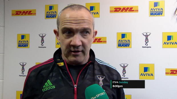 Aviva Premiership - Harlequins Post-Match Interviews