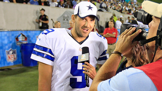 Ian Rapoport: CBS eyeing Tony Romo as a replacement for Phil Simms