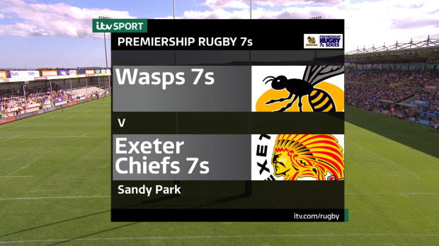 Aviva Premiership - Match Highlights - Exeter Chiefs 7s v Wasps 7s
