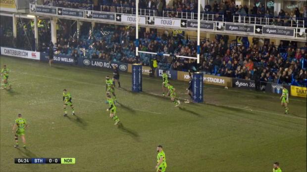 Aviva Premiership : Aviva Premiership - Highlights - Bath Rugby v Northampton Saints - AW SF