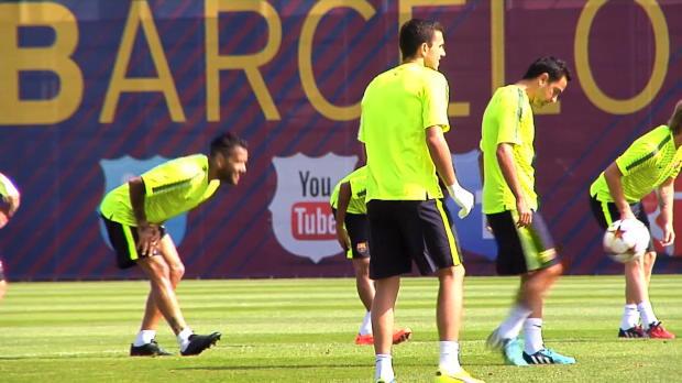 LDC - Groupe F, FC Barcelone, Enrique fait le grand saut