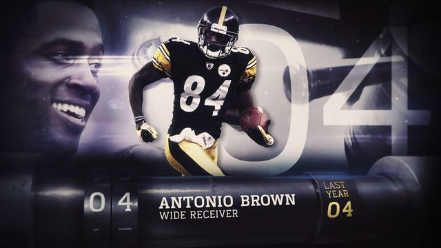 'Top 100 Players of 2017': No. 4 Pittsburgh Steelers wide receiver Antonio Brown