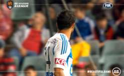 Fahid Ben Khalfallah set-up all three goals in Victory's Round 21 win over the Wanderers.