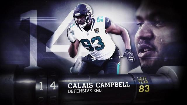 'Top 100 Players of 2018': Jacksonville Jaguars defensive end Calais Campbell | No. 14