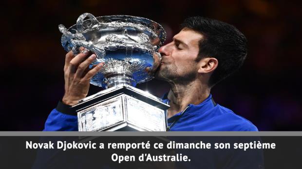 : Open d'Australie - Finale - Djokovic, 7 extra