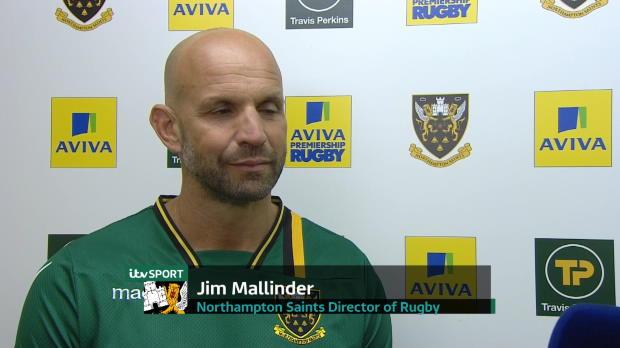 Aviva Premiership - Jim Mallinder Post Match Interview
