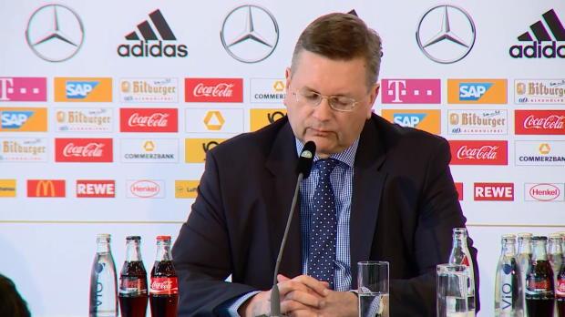 """DFB-Präsident Grindel: """"Große Verantwortung"""""""