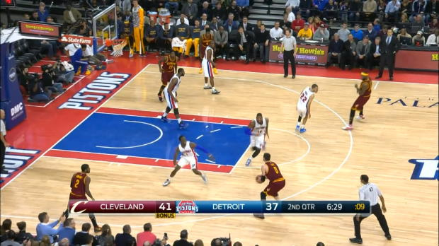 Basket : NBA - James et Love dominent Detroit