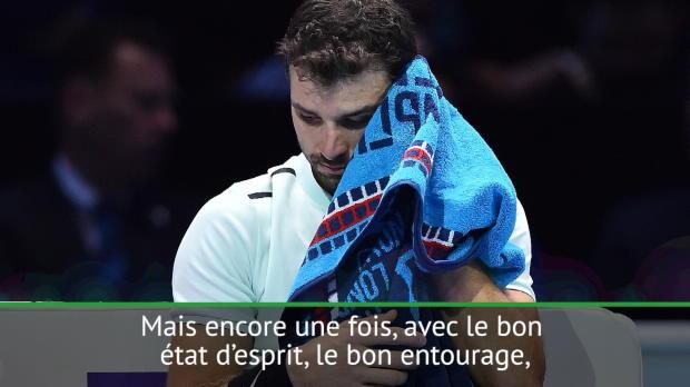 Tennis : Masters - Dimitrov revient sur ses passages à vide