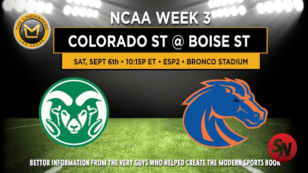 Colorado State @ Boise State