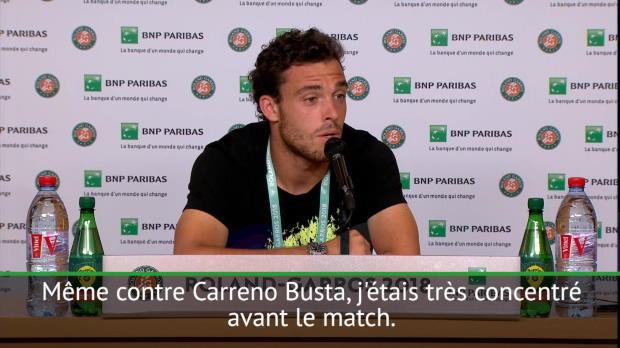 : Roland-Garros - Cecchinato - 'Le meilleur moment de ma vie'