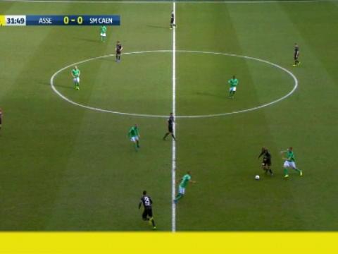 كرة قدم: الدوري الفرنسي: روديلين يسجل هدفاً هاماً لكاين أمام سانت اتيان