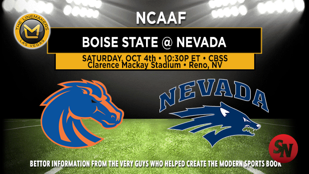 Boise State Broncos @ Nevada Wolf Pack