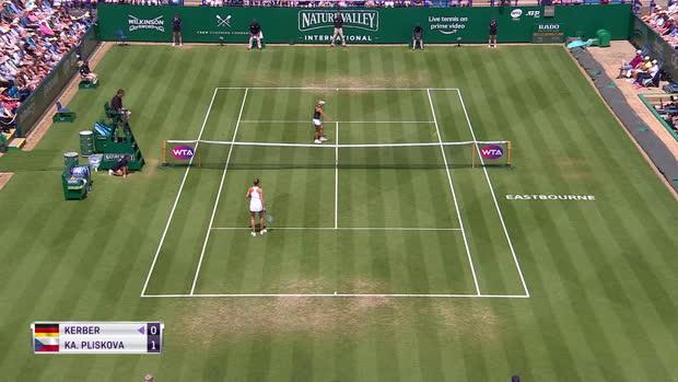 : Eastbourne - Pliskova remporte le tournoi