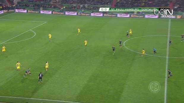 C. d'Allemagne : Sankt Pauli 0-3 Borussia Dortmund