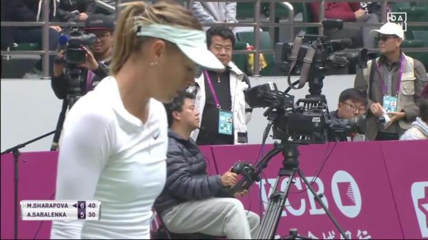 Tianjin: Sharapova gewinnt enges Finale