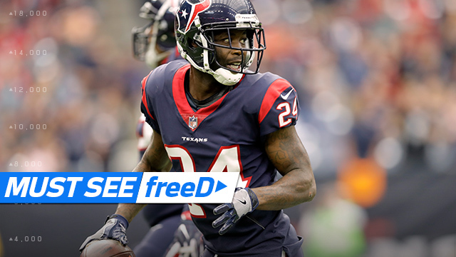 freeD: Johnathan Joseph takes INT 82 yards TO THE HOUSE | Week 6