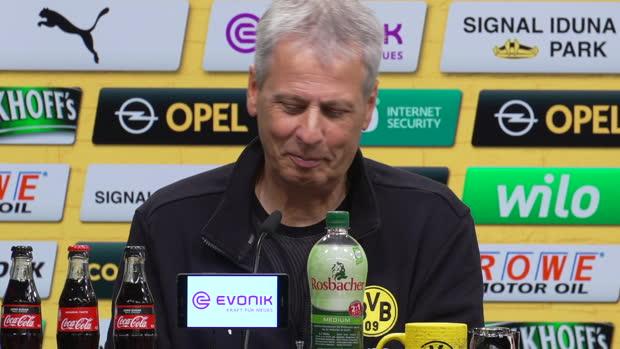 "Video: Favre überrascht BVB-Statistik: ""Oh la la!"""