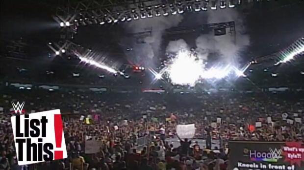 6 victorias de campeonato de Goldberg: WWE List This!