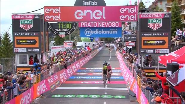 18e étape - Froome et Dumoulin grignotent encore