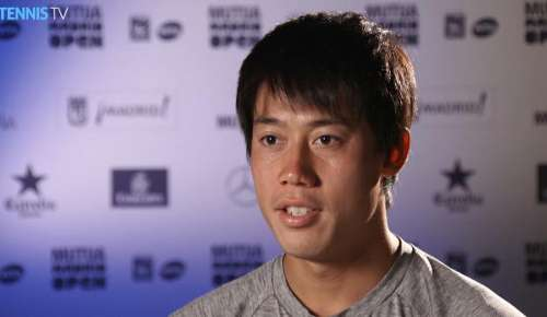 Nishikori Interview: ATP Madrid 3R
