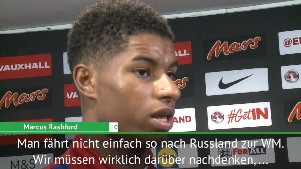 """WM-Quali: Rashford: """"Etwas Spezielles schaffen"""""""