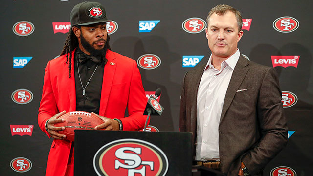 San Francisco 49ers cornerback Richard Sherman on his contract: 'Biggest misconception is that it's a bad deal'