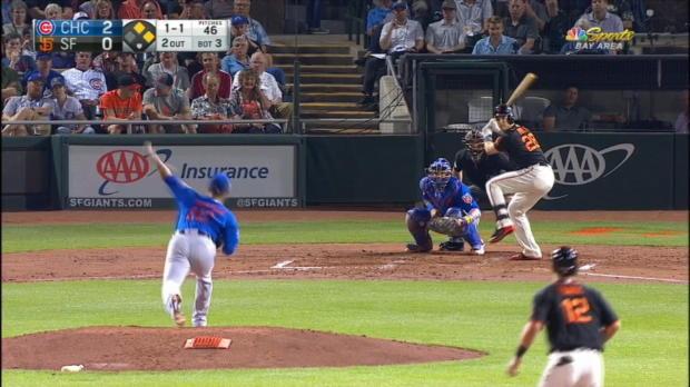 Posey's three-run homer