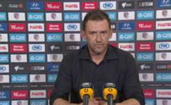 Western Sydney Wanderers boss Tony Popovic admitted Perth were the better side in their 2-0 loss to the Glory.
