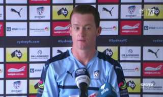Sydney FC midfielder Brandon O'Neill says the Sky Blues will drive on and not get deflated by Wednesday's FFA Cup Final defeat as they face Newcastle this Sunday.