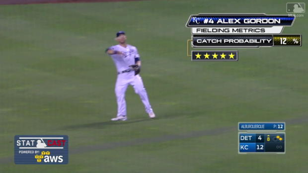 5-Star Catch von Alex Gordon
