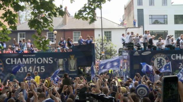 London feiert Chelsea und Mourinho