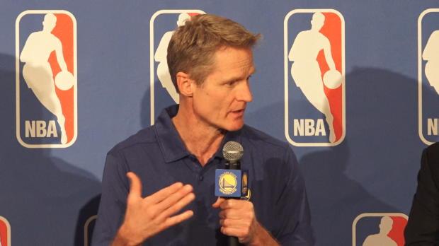"""Basket : NBA - Récompense - Kerr - """"J'encourage les joueurs à s'exprimer"""""""
