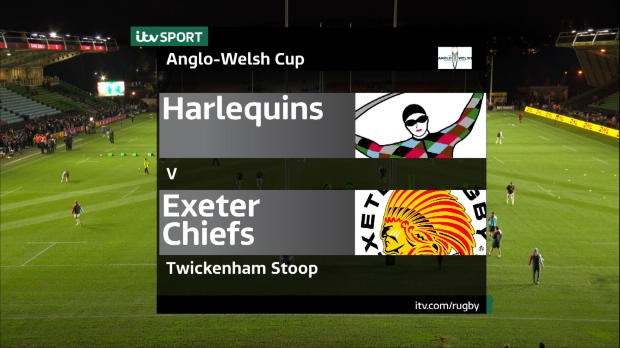 Aviva Premiership - Anglo Welsh Highlights - Harlequins v Exeter Chiefs