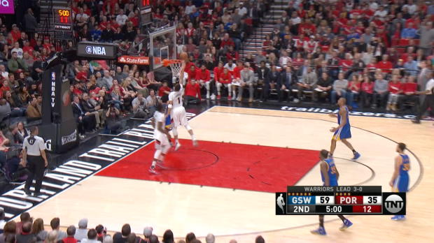 Assist of the Night - Al-Farouq Aminu