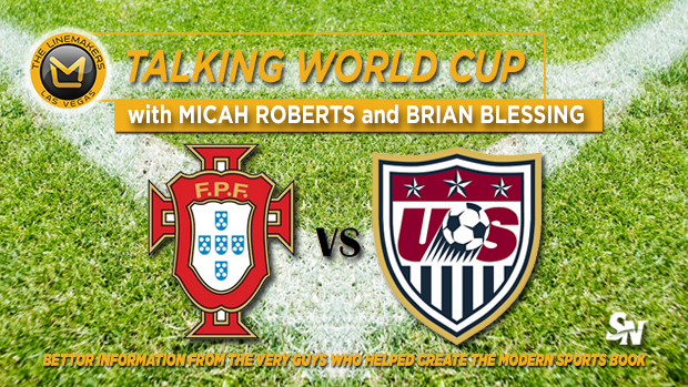 World Cup: USA Vs. Portugal