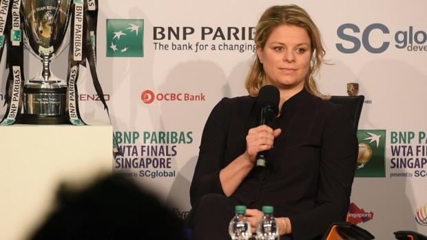 Stuttgart: Clijsters freut sich auf Sharapova
