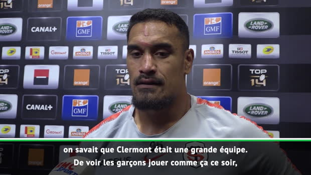 "Rugby : Top 14 - Finale : Kaino : ""Beaucoup de fierté"""