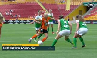 Brisbane Roar opened the W-League season with a 2-1 win over Canberra United.