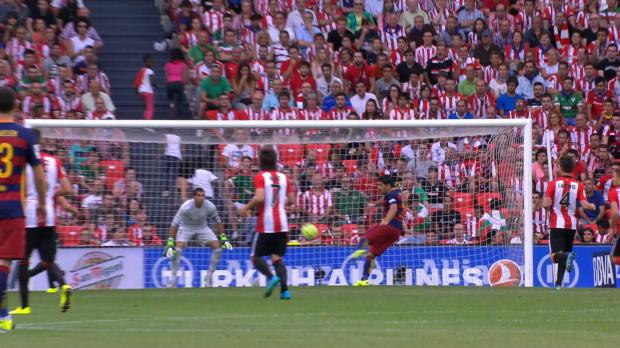 La Liga Round 1: Athletic Bilbao 0-1 Barcelona