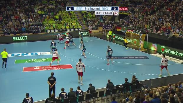 EHF Cup: Füchse Berlin - Logrono | DAZN Highlights