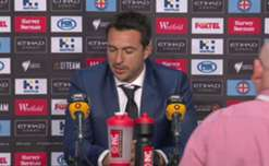 Mariners boss Paul Okon cut a frustrated figure following his side's 2-1 loss to Melbourne City on Thursday night.