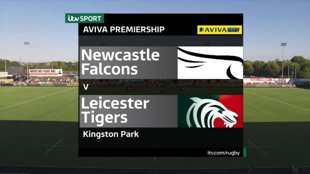 Aviva Premiership - Match Highlights - Newcastle Falcons v Leicester Tigers