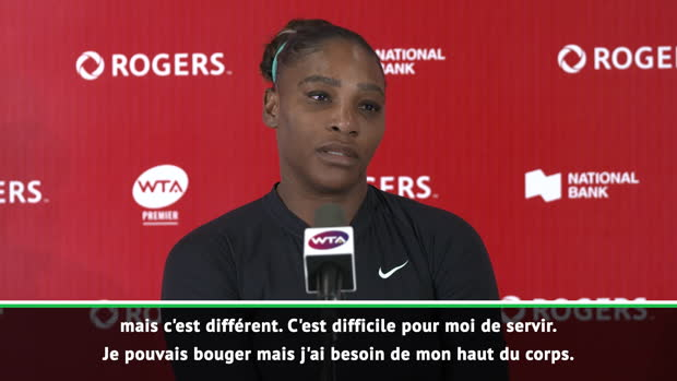 "Basket : Toronto - S. Williams - ""Je connais mon corps"""