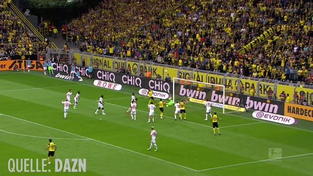 Top-Tore der Bundesliga-Hinrunde