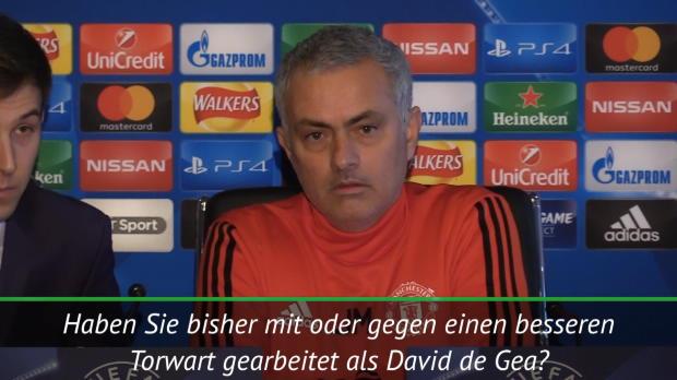 Mourinho: De Gea ganz unten in der Hackordnung
