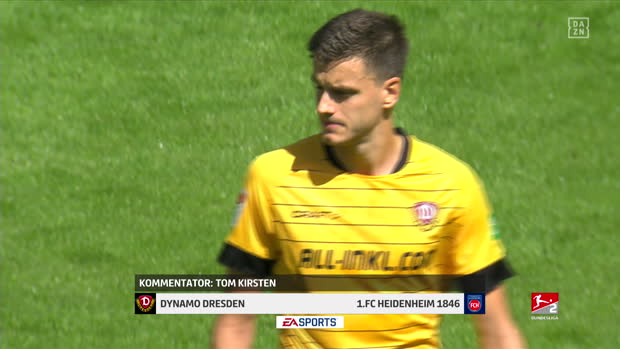 2. Bundesliga: Dynamo Dresden - Heidenheim   DAZN Highlights