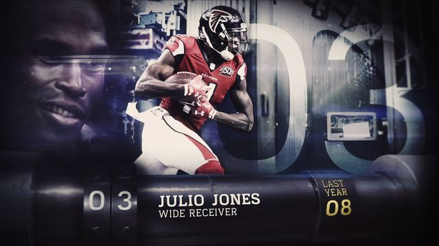 'Top 100 Players of 2017': No. 3 Atlanta Falcons wide receiver Julio Jones