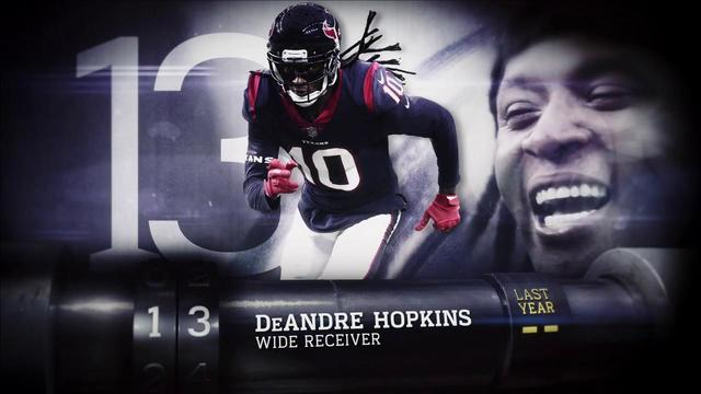 'Top 100 Players of 2018': Houston Texans wide receiver DeAndre Hopkins | No. 13
