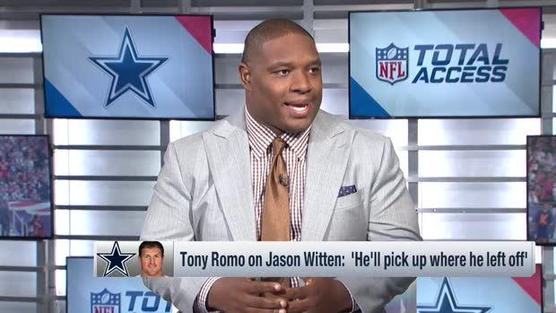 NFL Network's Maurice Jones-Drew backs former NFL quarterback Tony Romo's endorsement of Dallas Cowboys tight end Jason Witten for 2019